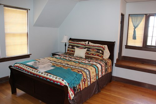 Native American Cultural House Right Bedroom