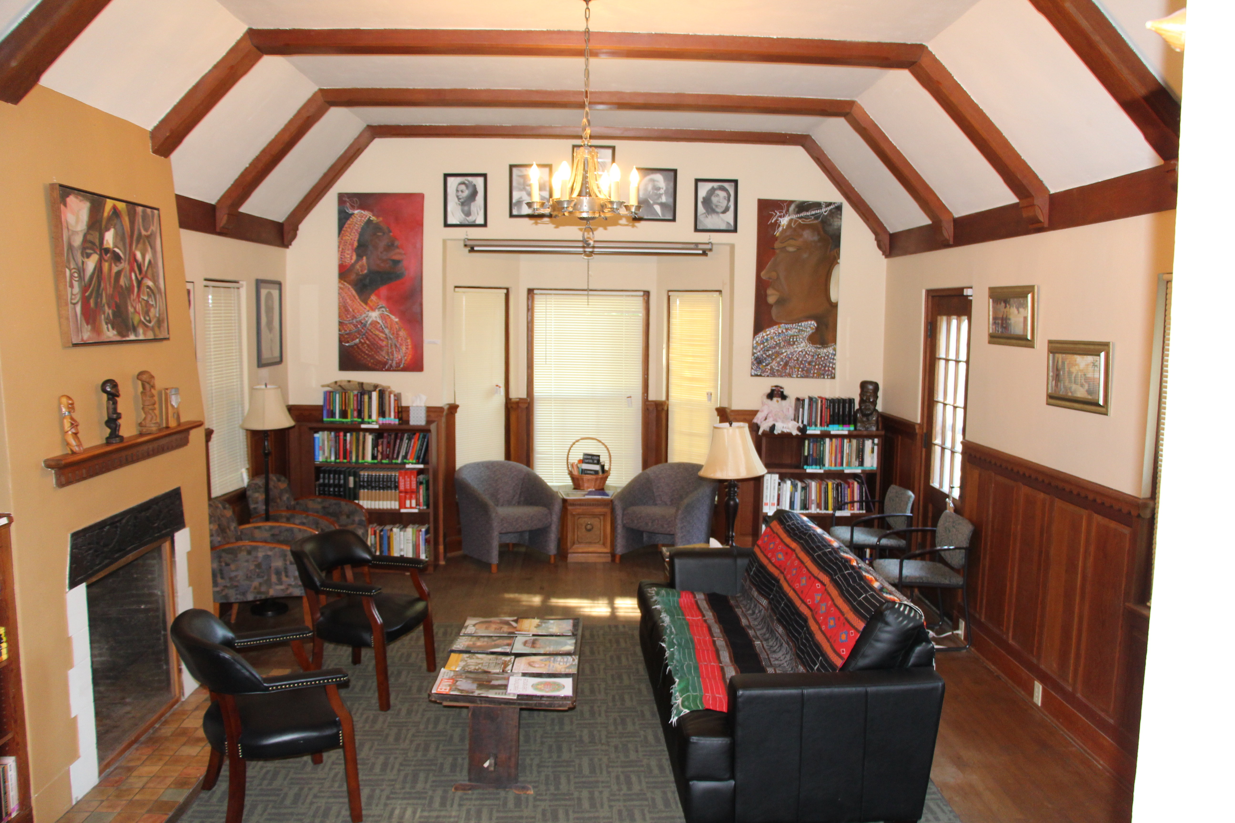 Talmadge Anderson Heritage House Living Room